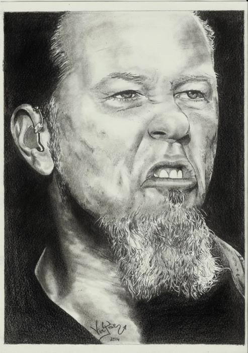 James Hetfield por VirJnie